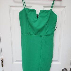 Green Bodycon Dress Fashion Nova